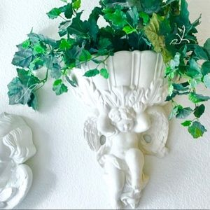 Other - ANGEL WALL SCONCE W/GREENERY